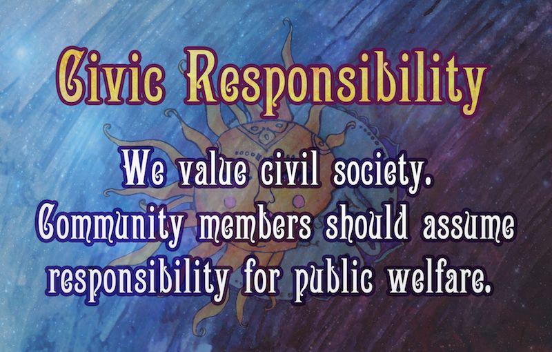 Civic Responsibility