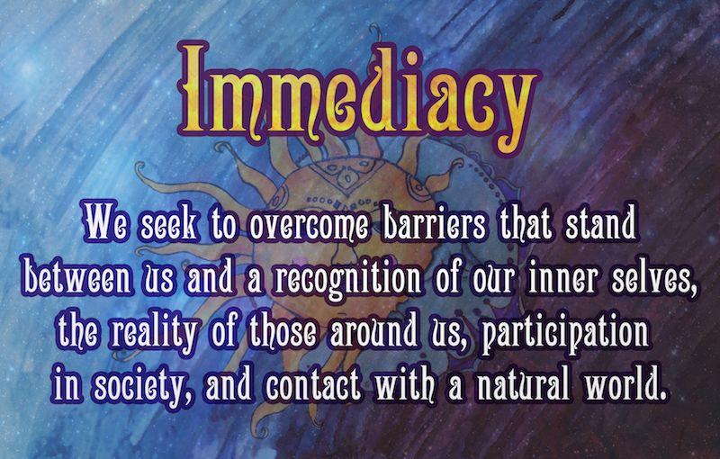 Immediacy